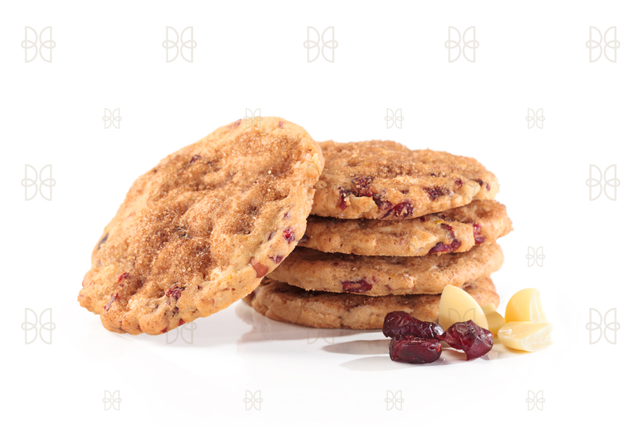Galletas de avena con arándano y chocolate blanco