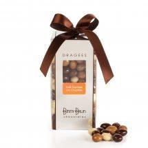 Caja con café expresso con chocolate