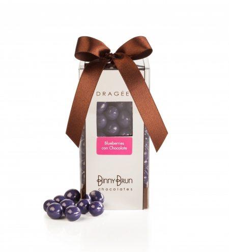 Caja con blueberries
