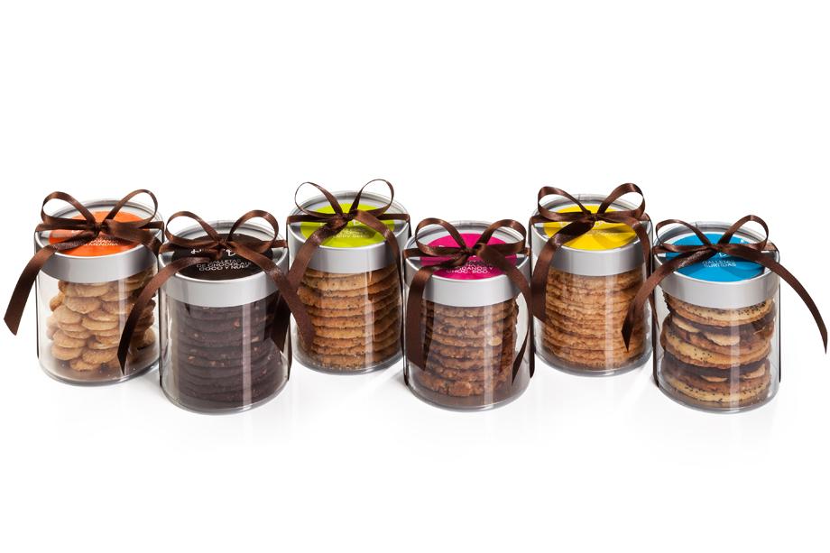 cilindros con galletas